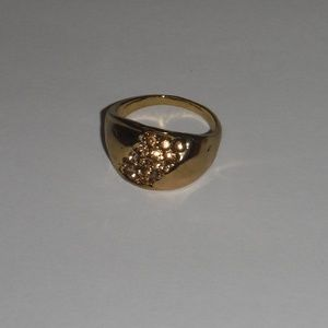 Other - Gold Plated Gemstone Fashion Ring